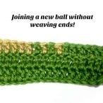 Join a New Ball of Yarn without Weaving in Ends Video Tutorial