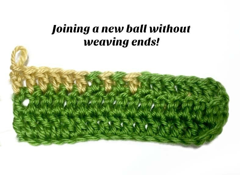 Joining A New Ball of Yarn Tutorial