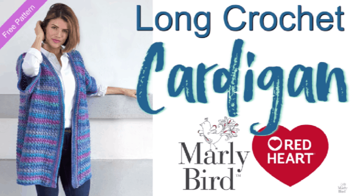 How to Crochet the Long Cardigan Tutorial