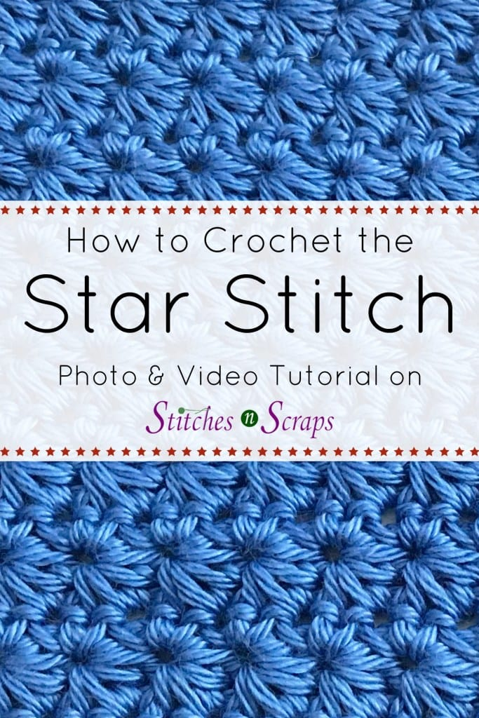 Learn How to Crochet the Star Stitch