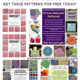 64 Free Crochet Dishcloth Patterns