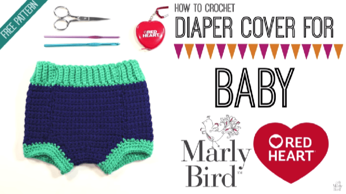 How to Crochet a Diaper Cover for Baby
