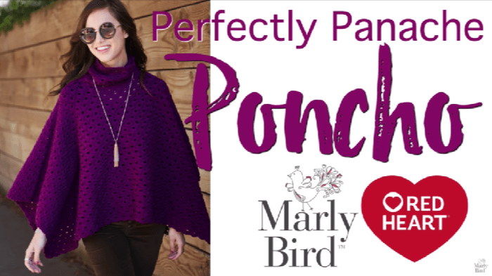 How to Crochet the Perfectly Panache Poncho