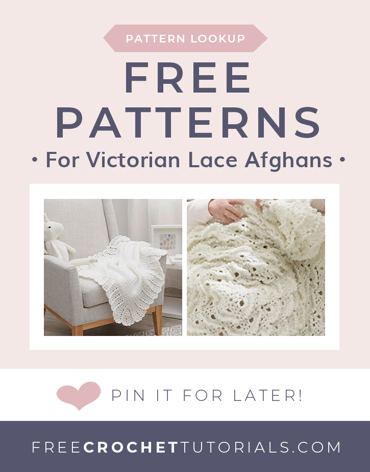 Pattern Lookup Victorian Lace Afghan Patterns