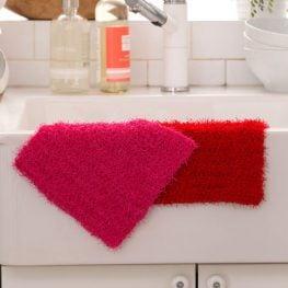 Simple Crochet Dishcloth