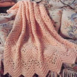 Victorian Lace Afghan Pattern from AllFreeCrochetAfghanPatterns