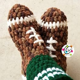 Football Slipper Pattern