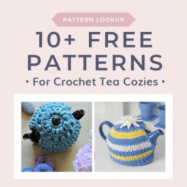 Free Crochet Tea Cozy Patterns Cover