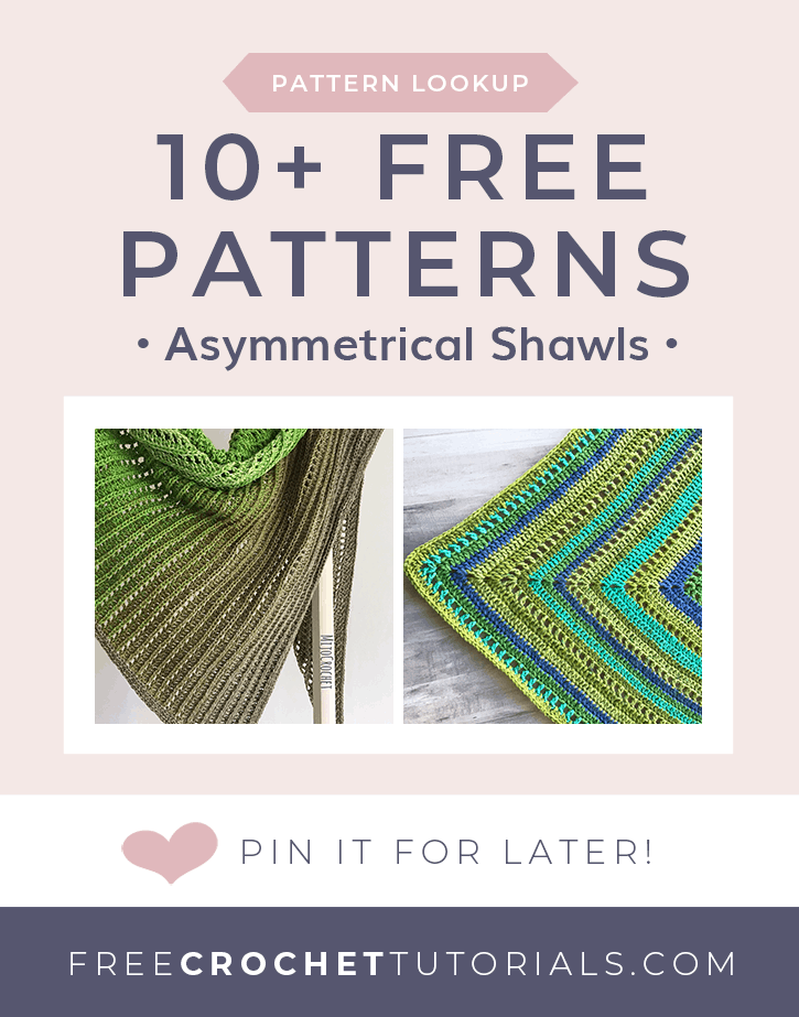 10 Free Patterns for Asymmetrical Shawls Pattern Lookup Request