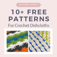 10 Free Patterns for Crochet Dishcloths Pattern Lookup FB