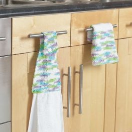 Bernat Towel Topper Pattern