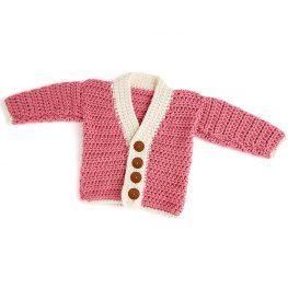 Crochet Cutie Baby Cardigan Pattern