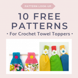 Pattern Lookup 10 Free Towel Topper Crochet Patterns 1