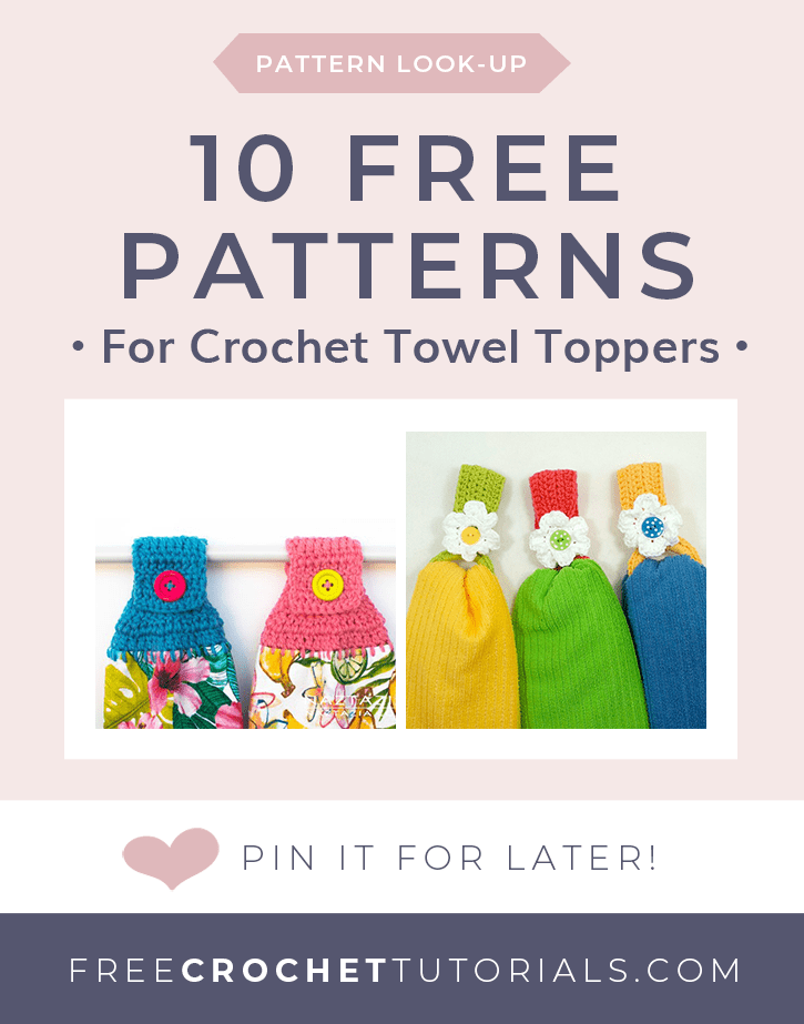 Pattern Lookup 10 Free Towel Topper Crochet Patterns