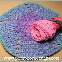 Pinwheel Dishcloth Pattern