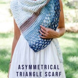 asymmetrical-crochet-triangle-scarf-free-pattern