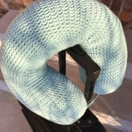 Crochet Travel Pillow Pattern
