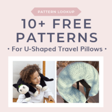 Pattern Lookup U-Shaped Travel Pillows and Neck Pillows
