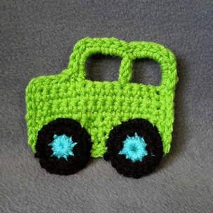 How to Crochet a Car Applique