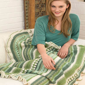 How to Crochet the Country Fields Afghan