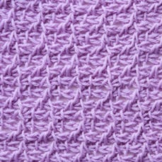 Tunisian Crochet Prairie Stitch Tutorial by Kim Guzman