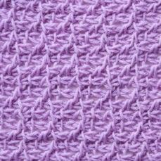 Tunisian Crochet Prairie Stitch Tutorial by Kim Guzman