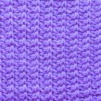How to Make Tunisian Simple Stitch Rib