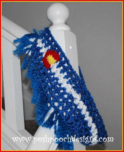 How to Crochet the Fringed Colorado Homespun Cowl Tutorial