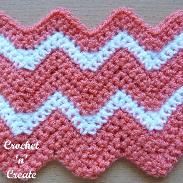 Crochet Ripple Stitch Tutorial
