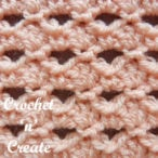 Crochet Small Shell Stitch Tutorial