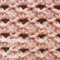 Crochet Small Shell Stitch Tutorial