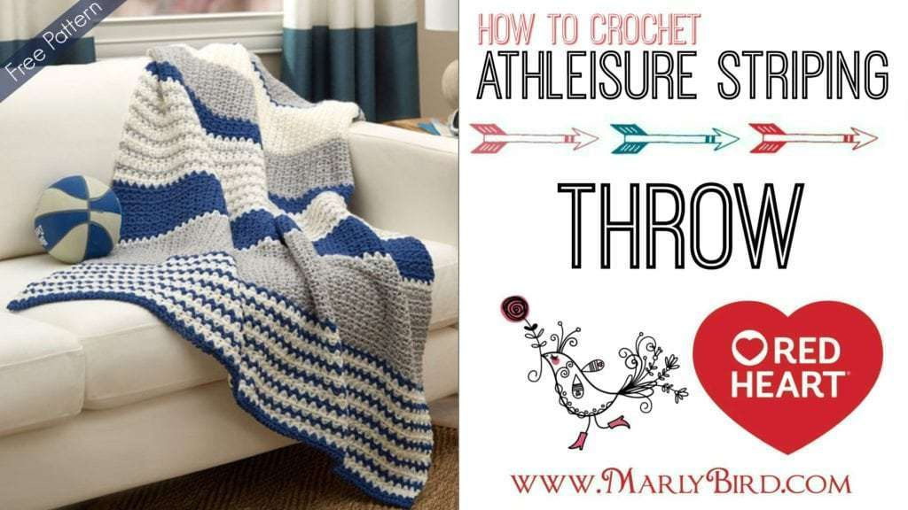 How to Crochet the Athleisure Throw