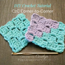 Learn How To Crochet Corner-To-Corner