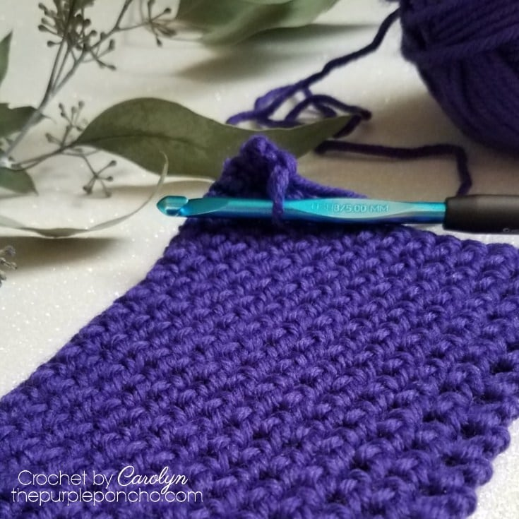 Learn To Crochet The Single Crochet Thermal Stitch