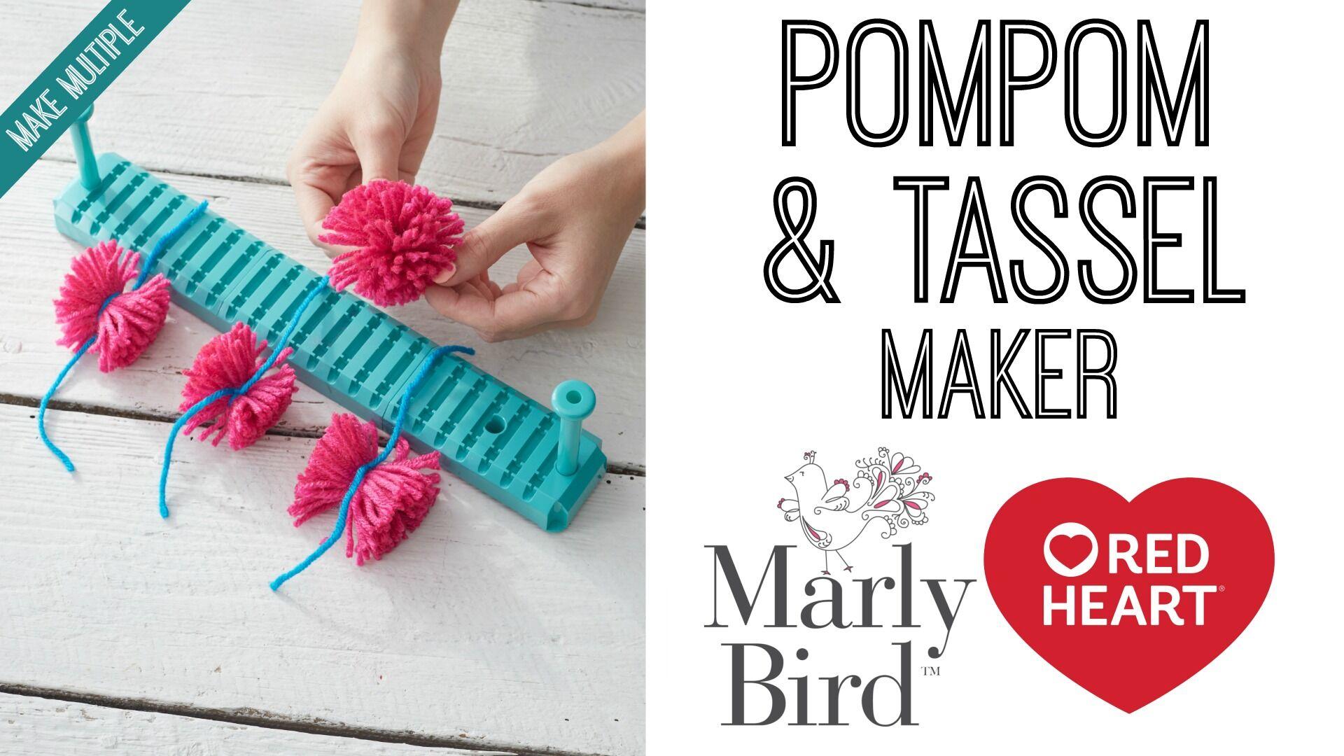 How to Make a Pompom and Tassel