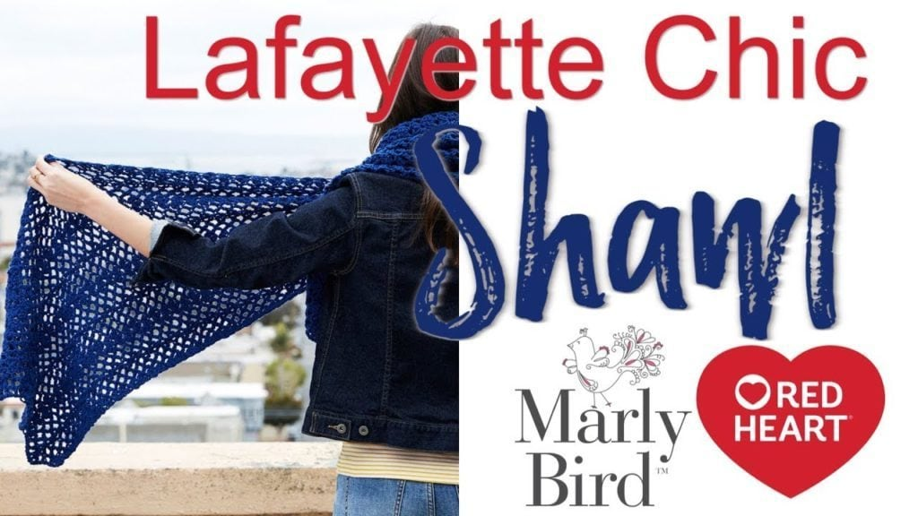 How to Crochet the Lafayette Chic Shawl