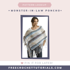 Pattern Lookup Request Monster In Law Poncho Pattern
