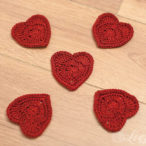 Red Heart Crochet Pattern and Tutorial