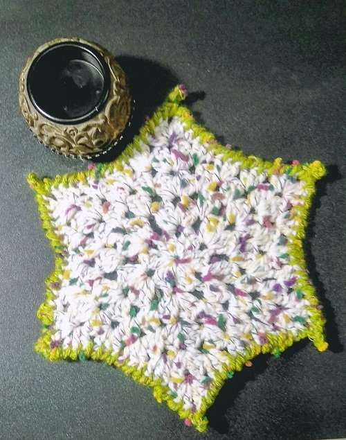 Granny Star Placemat Tutorial