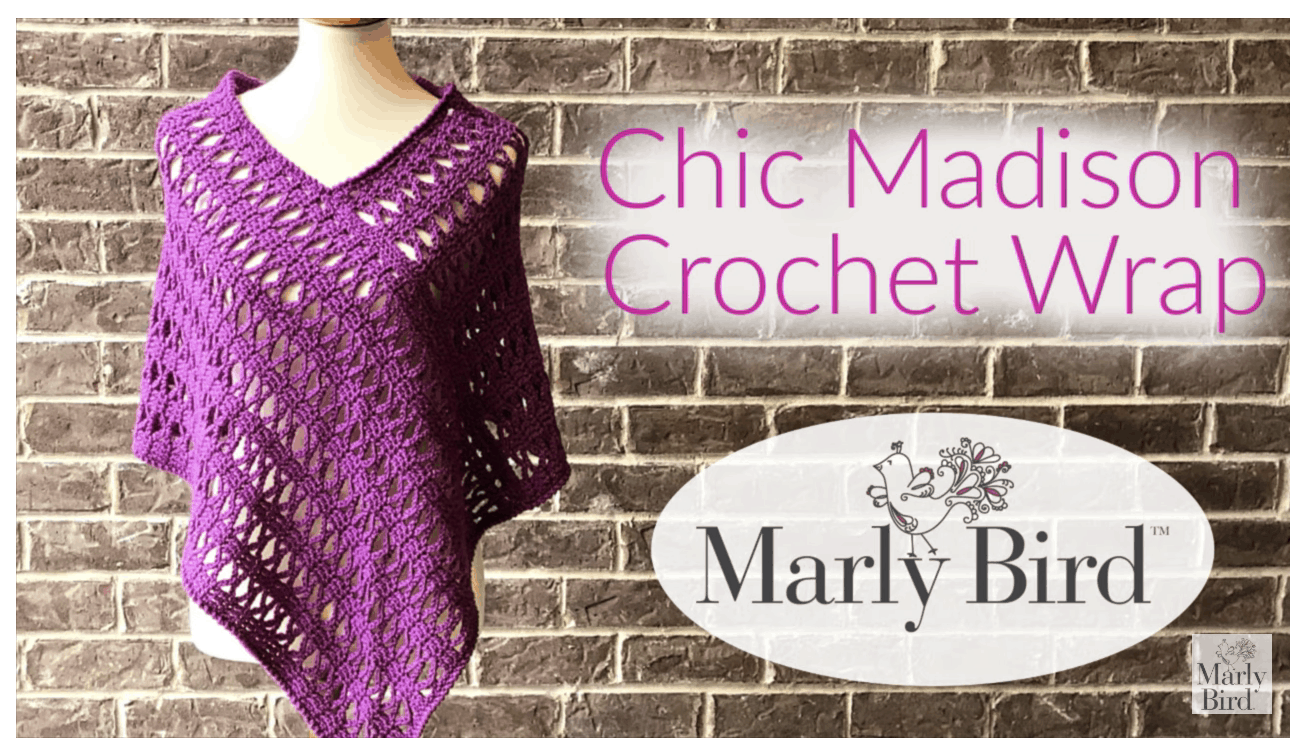 How to Crochet the Chic Madison Crochet Wrap Tutorial