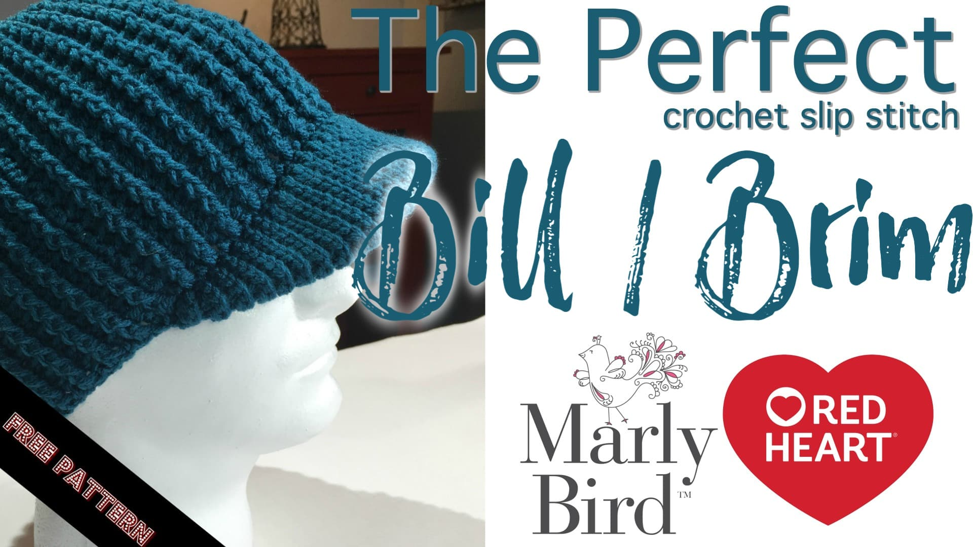 How to Crochet The Perfect Hat Brim