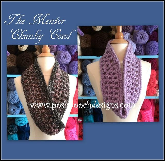 The Mentor Chunky Cowl Crochet Tutorial