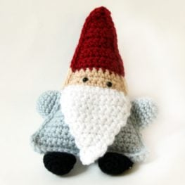 Cute Little Triangle Gnome Pattern