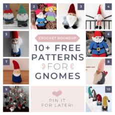 Free Christmas Gnome Crochet Patterns FB