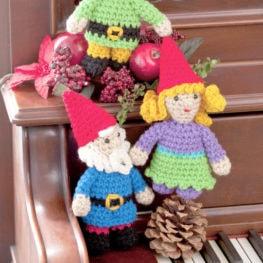 Crochet Gnome Family Pattern