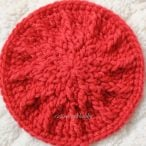Crochet Textured Spike Coaster