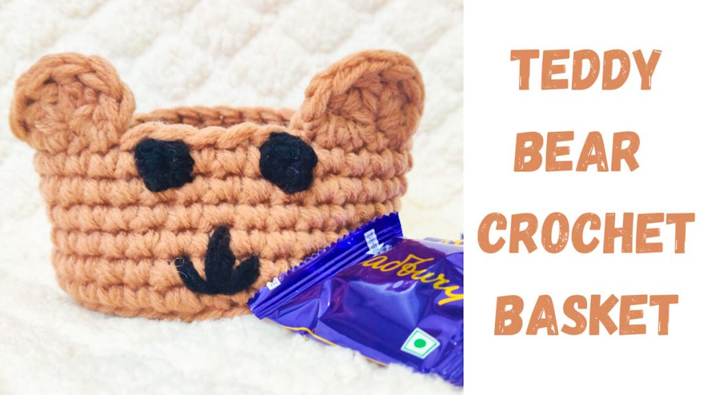 Teddy-Bear-Crochet-Basket
