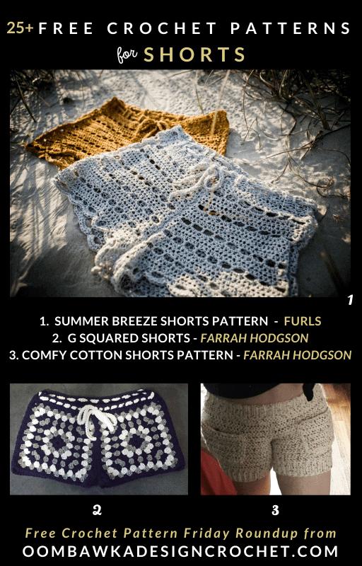 25-Free-Crochet-Shorts-Patterns-Free-Pattern-Friday-at-Oombawka-Design-Crochet