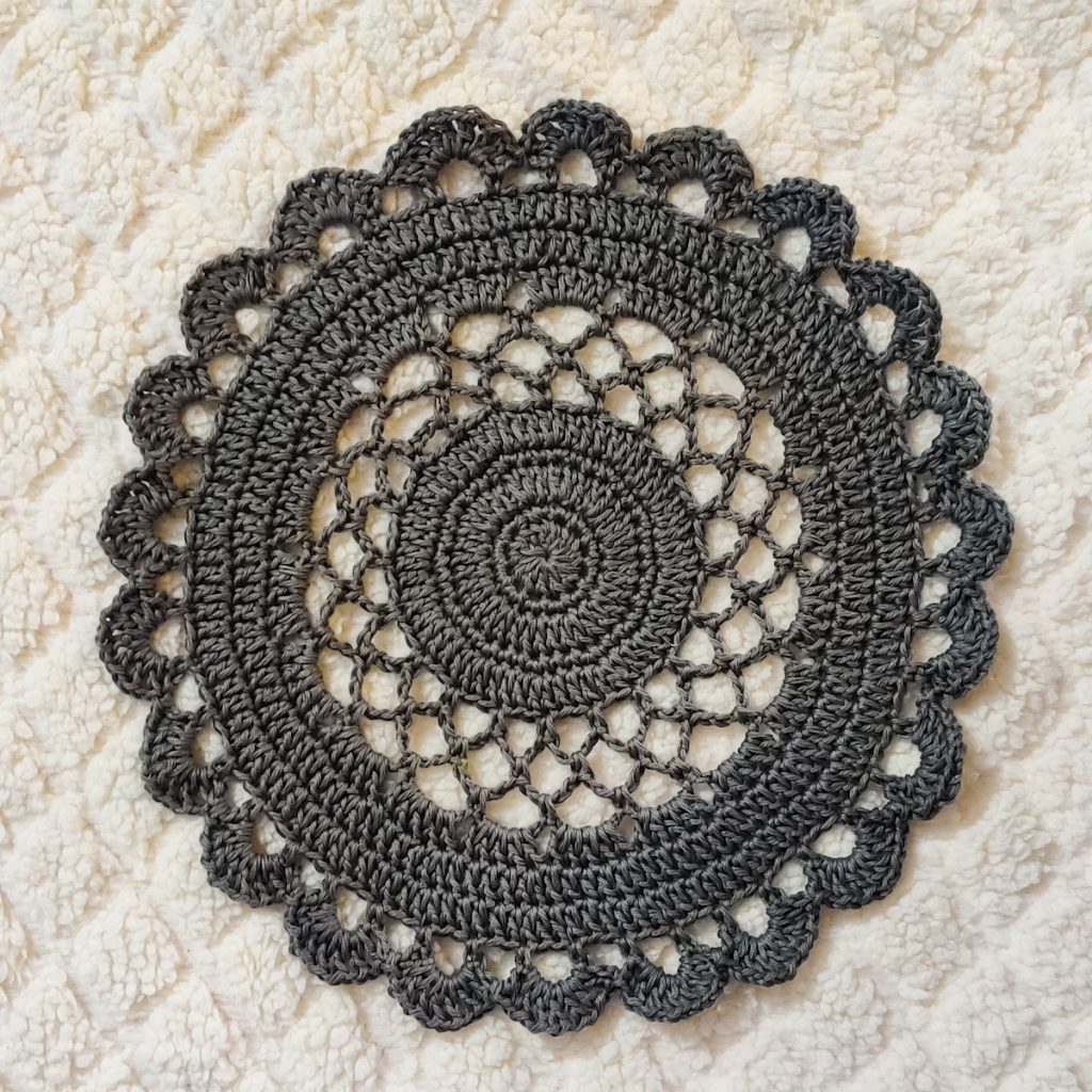 Lacy Doily Crochet Tablemat