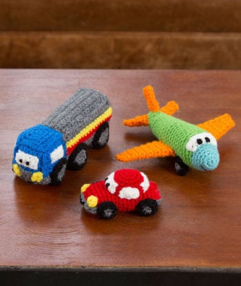 Happy Little Car Free Pattern From Red Heart North America